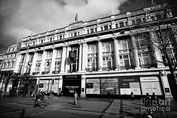 Wall Art - Photograph - The Clerys Building Now Closed And Being Redeveloped As Clerys Quarter Dublin Republic Of Ireland by Joe Fox