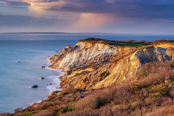 Photograph - The Cliffs At Aquinnah by Michael Blanchette