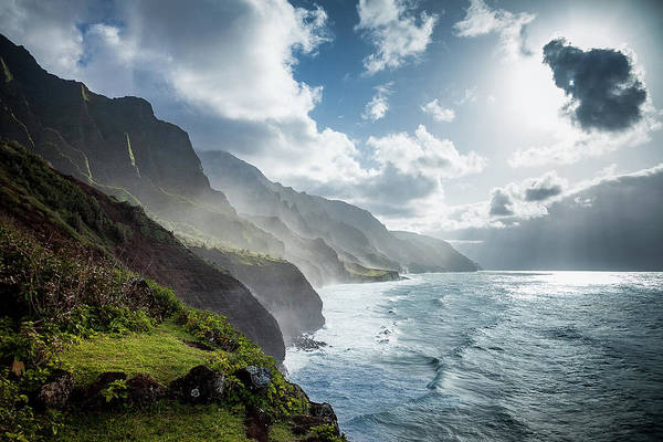 Photograph - The Cliffs Of Kalalau by Tim Newton