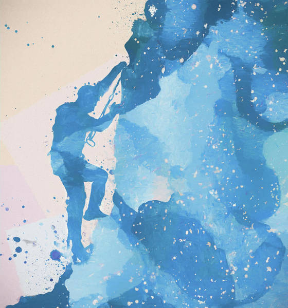 Painting - The Climber by Dan Sproul