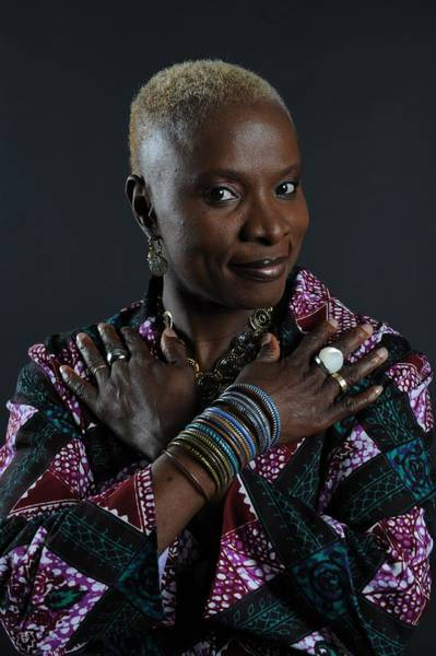 Switzerland Photograph - The Close-up Of Angelique Kidjo In by Lionel Flusin
