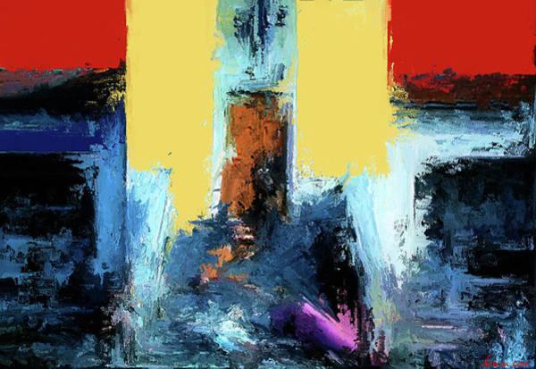 Digital Art - The Closed Door by Rein Nomm