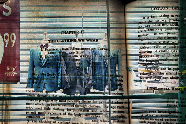 Photograph - The Clothing We Wear by Sharon Popek