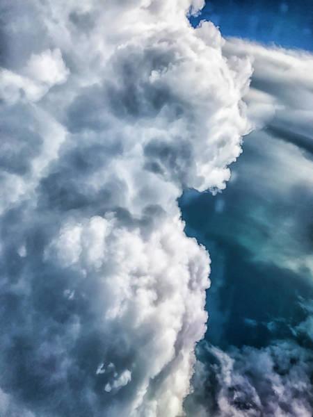 Photograph - The Cloud Giant Awaits by Paul Croll