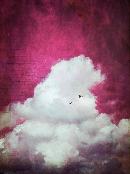Photograph - The Cloud -red Sky Version by Dirk Wuestenhagen
