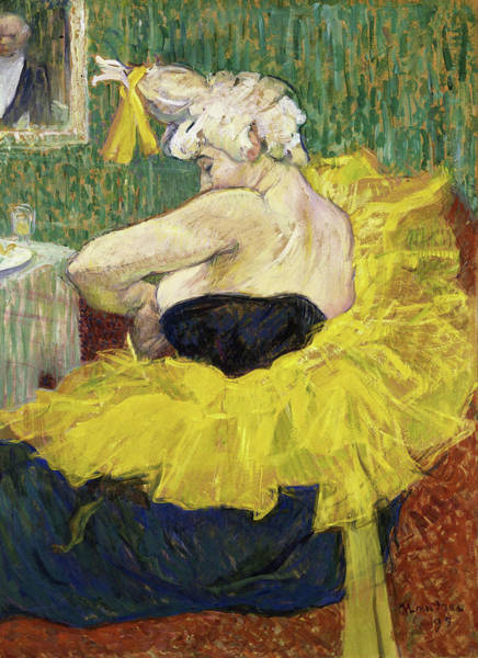 Wall Art - Painting - The Clown Cha-u-kao - Digital Remastered Edition by Henri de Toulouse-Lautrec