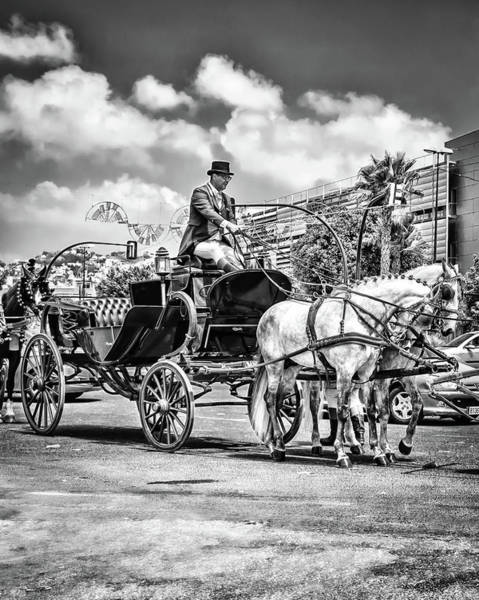 Photograph - The Coachman by Borja Robles