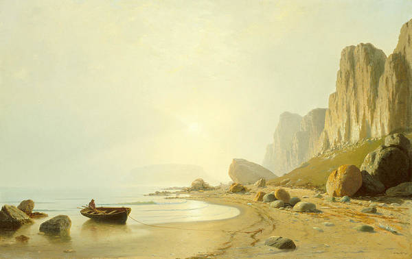 Wall Art - Painting - The Coast Of Labrador by William Bradford