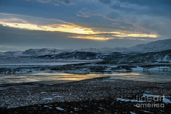 Wall Art - Photograph - The Cold And Stunning Landscape Of Iceland. by Jamie Pham