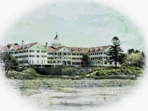 Photograph - The Colony Hotel by Marcia Lee Jones