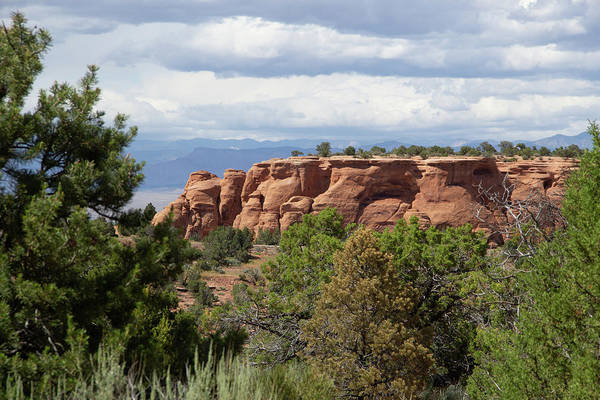 Photograph - The Colorado Monument by Marie Leslie