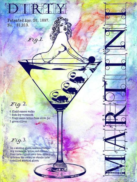 Wall Art - Photograph - The Colorful Dirty Martini by Jon Neidert