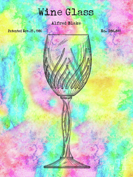 Wall Art - Photograph - The Colorful Wine Glass by Jon Neidert