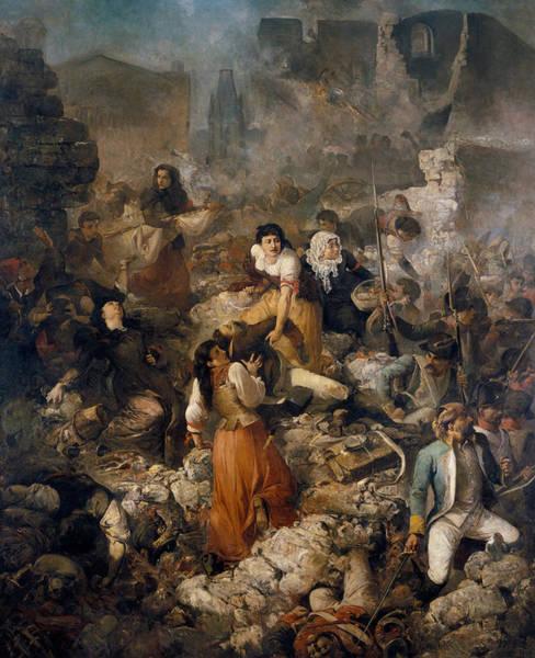 Painting - The Company Of Saint Barbara by Ramon Marti Alsina