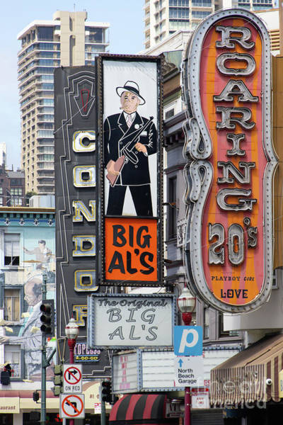 Photograph - The Condor The Original Big Als And Roaring 20s Adult Strip Clubs On Broadway San Francisco R466 by Wingsdomain Art and Photography