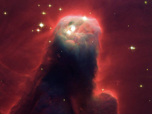Painting - The Cone Nebula by Jet Propulsion Laboratory