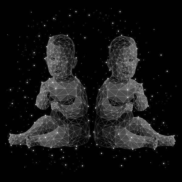 People Digital Art - The Constellation Of Gemini by Malte Mueller