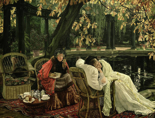 Wall Art - Painting - The Convalescent, 1876 by James Tissot