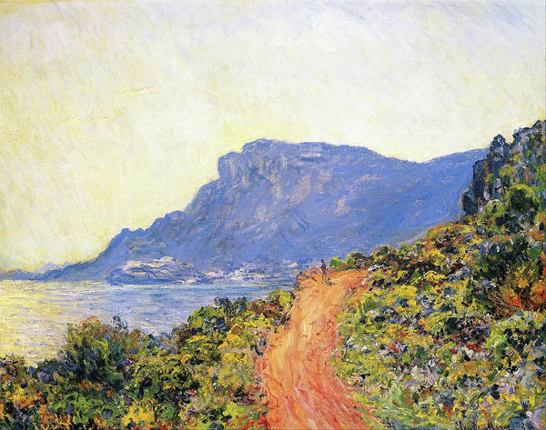 Wall Art - Painting - The Corniche Near Monaco - Digital Remastered Edition by Claude Monet