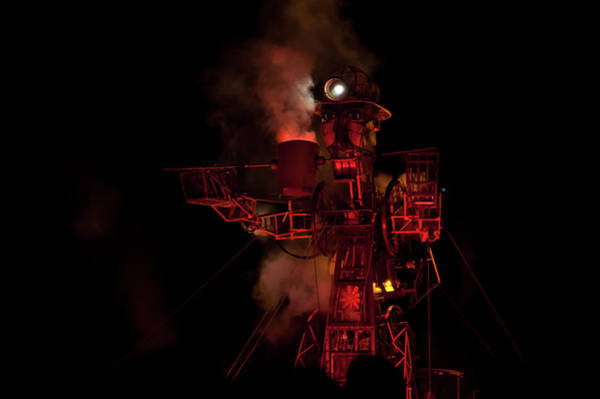 Photograph - The Cornish Man Engine Iv by Helen Northcott