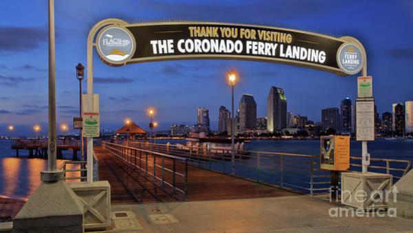 Photograph - The Coronado Ferry Landing by Sam Antonio Photography