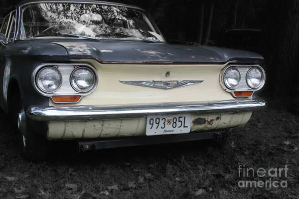 Corvair Photograph - The Corvair  by Steven Digman