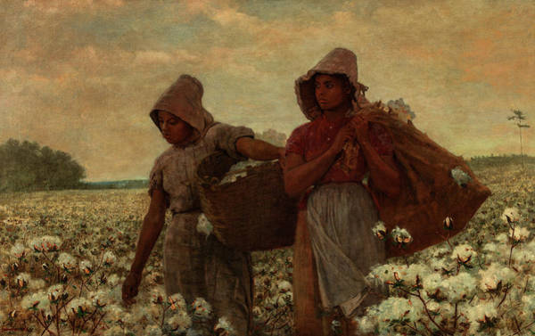 Wall Art - Painting - The Cotton Pickers, 1876 by Winslow Homer