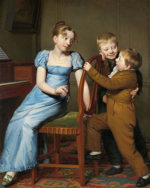 Painting - The Crazy Piano Play by Willem Bartel van der Kooi