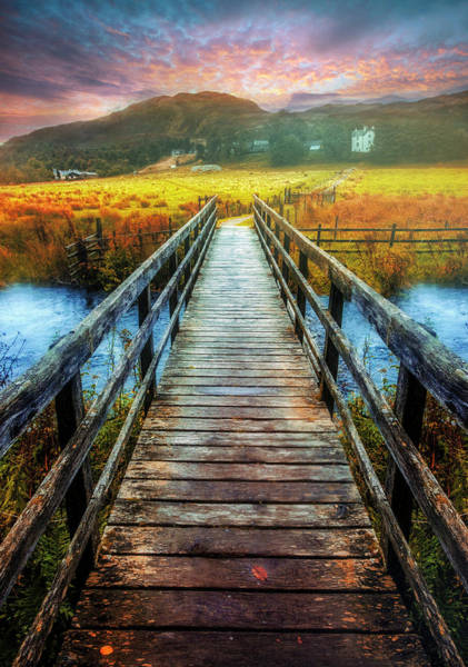 Photograph - The Crossing At Dawn by Debra and Dave Vanderlaan