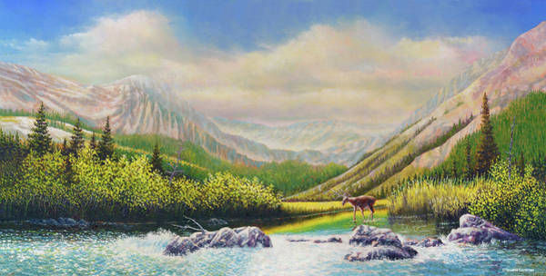 Painting - The Crossing by Douglas Castleman