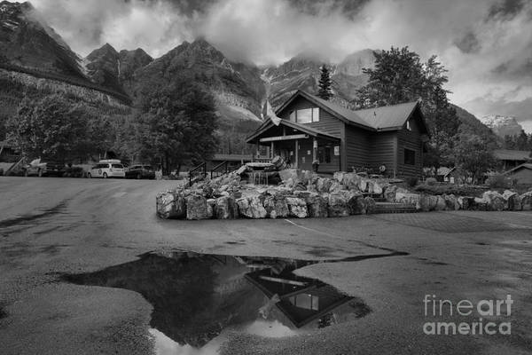Photograph - The Crossing Resort Black And White by Adam Jewell