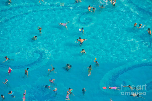 Wall Art - Photograph - The Crowd In The Pool by Oceanfishing