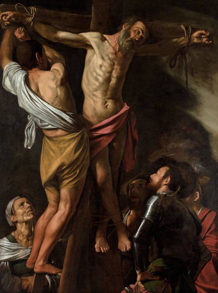 Caravaggio Painting - The Crucifixion Of Saint Andrew, 1607 by Caravaggio