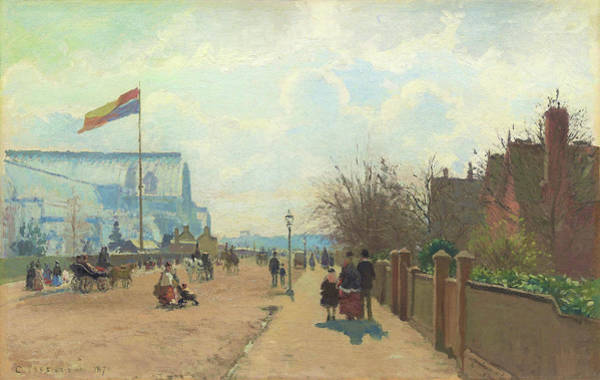 Camille Pissarro Painting - The Crystal Palace - Digital Remastered Edition by Camille Pissarro