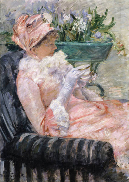 Wall Art - Painting - The Cup Of Tea, 1881 by Mary Cassatt