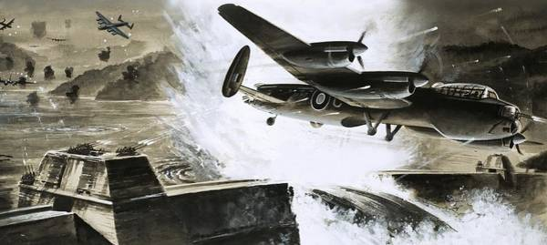 Daring Painting - The Dambusters by English School
