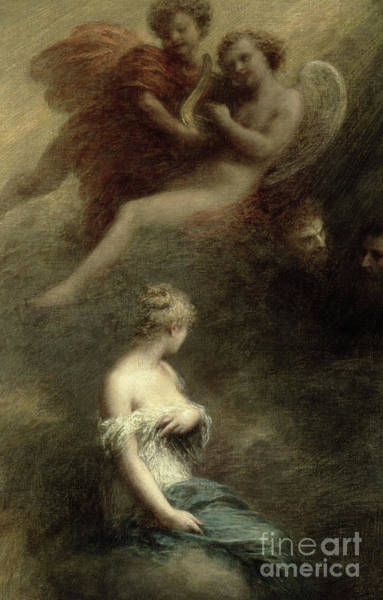 Wall Art - Painting - The Damnation Of Faust, 1888 by Ignace Henri Jean Fantin-Latour