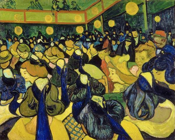 Wall Art - Painting - The Dance Hall In Arles - Digital Remastered Edition by Vincent van Gogh