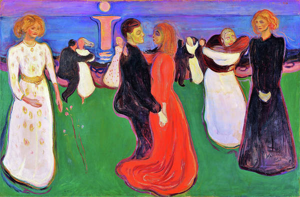 Wall Art - Painting - The Dance Of Life - Digital Remastered Edition by Edvard Munch