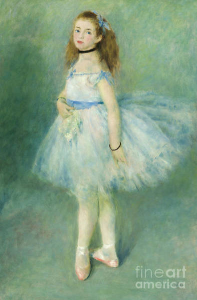 Wall Art - Painting - The Dancer, 1874 by Pierre Auguste Renoir