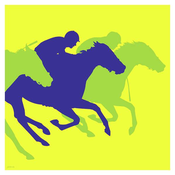 Horse Drawing - The Dark Horse by Greg Joens