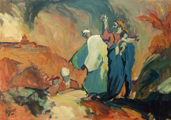 Painting - The Day God Condemns The Catholic Church As A Criminal Organisation. by Nop Briex
