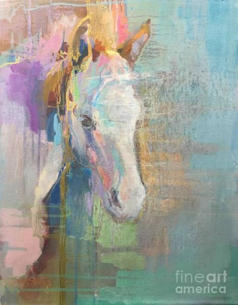 Wall Art - Painting - The Daylight Waits For Her Command by Kimberly Santini