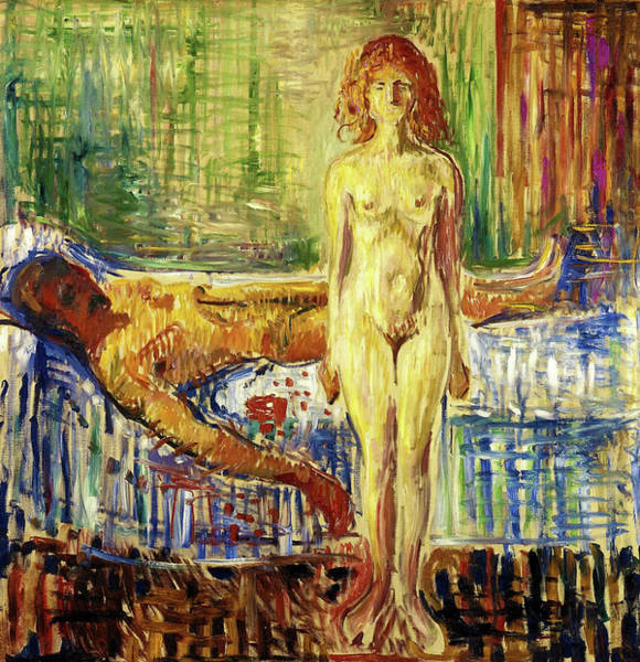 Wall Art - Painting - The Death Of Marat II - Digital Remastered Edition by Edvard Munch