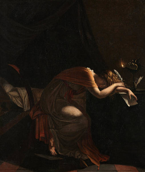 Wall Art - Painting - The Death Of Sophonisba, 1810 by Pierre Guerin