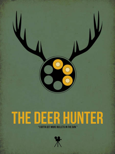 Wall Art - Digital Art - The Deer Hunter by Naxart Studio