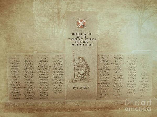The Dekalb Rifles Memorial Art Print