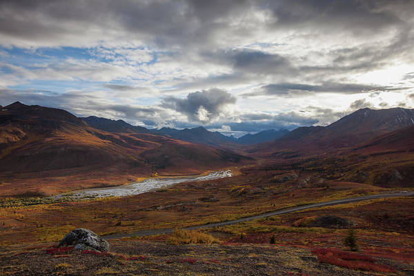 Wall Art - Photograph - The Dempster Highway And Klondike by Robert Postma / Design Pics