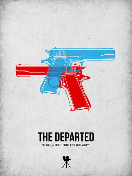 Wall Art - Digital Art - The Departed by Naxart Studio