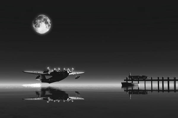 Digital Art - The Departure by Jan Keteleer